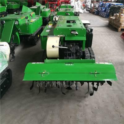 多功能履带式开沟施肥机 核桃管理自动挖沟上肥机