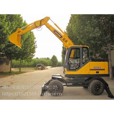 BD95W-9多功能轮式挖掘机厂家报价