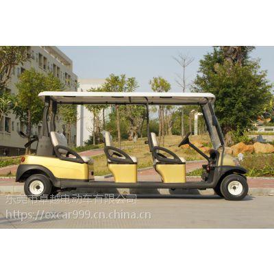 卓越A1S6金色款定制游览车高尔夫电动车看房车各种配色可挑选