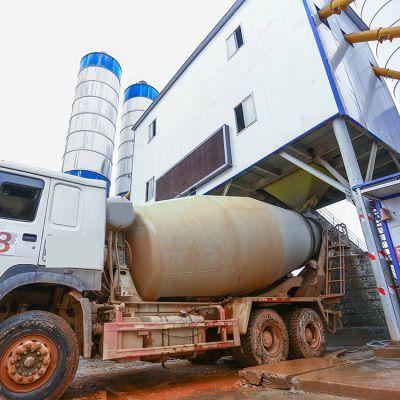 中博智建厂家直销hzs180混凝土搅拌站
