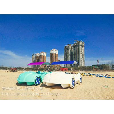 海南甲壳虫脚踏船 海上可用脚踏船厂家直发