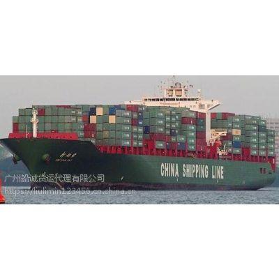 山东菏泽到广东梅州的海运内贸公司