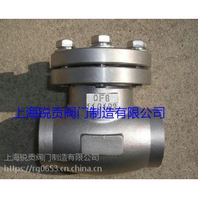 低温止回阀 DH61F-100P低温高压止回阀