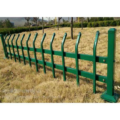 巴中市喷塑锌钢草坪护栏厂家送样品免费