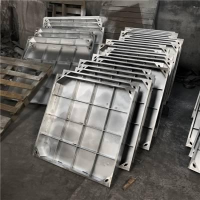 金聚进 专业制作 方形不锈钢隐形井盖 铁镀锌井盖 800*800
