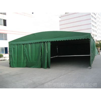 南京钢结构雨棚移动式遮雨蓬工厂仓库停车卸货蓬篷子