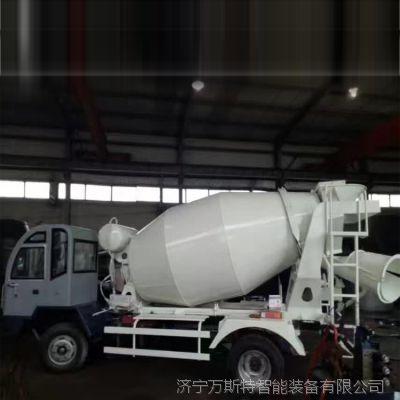小型沥青混凝土搅拌车 3方自上料搅拌车 6方混凝土运输车