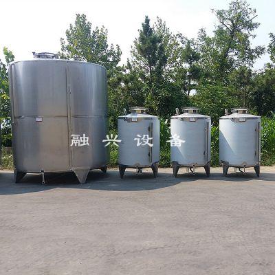 1吨椎底不锈钢罐 密封性能好的白酒罐图片 酒厂配套移动式打渣机