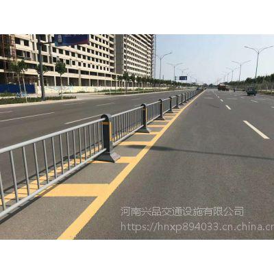 工厂定制市政道路护栏 马路中间交通隔离栏现货 停车场挡车护栏