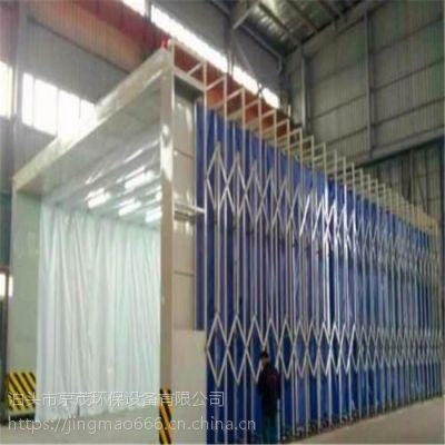 沧州京茂环保移动式伸缩喷漆房使用效果怎么样