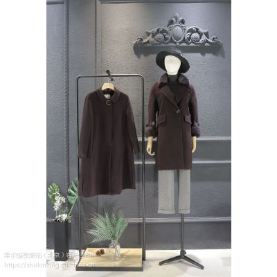 宝莱国际品牌折扣哥弟女装尾货专柜正品折扣女装 北京尾货批发价格红色连衣裙