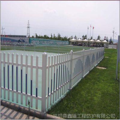 浙江嘉兴嘉善 塑钢护栏型材批发桃形立柱围栏