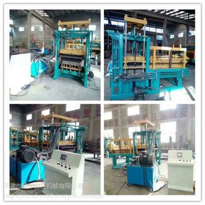 建丰砖机直供吉林全自动液压彩砖机松原市路面透水砖机