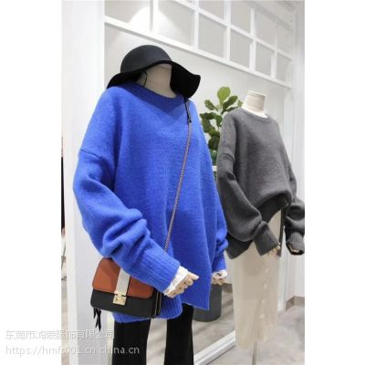 新品外单开衫爆款毛衣批发 地摊进货超低价女式毛衣工厂直销吉林吉林市集特卖女装毛衣