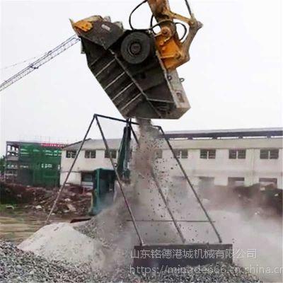 广东深圳日立挖掘机破碎头石子粉碎机