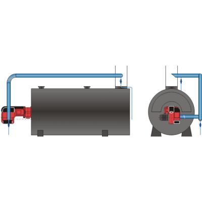 卧式低氮蒸汽锅炉厂,NOx<30mg