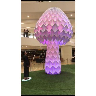 山东万棵松厂家互动蘑菇灯 发光蘑菇灯热销中