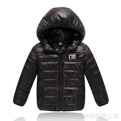 秋冬新款儿童轻薄款羽绒棉服纯色保暖外套中大童棉衣棉袄厂价批发