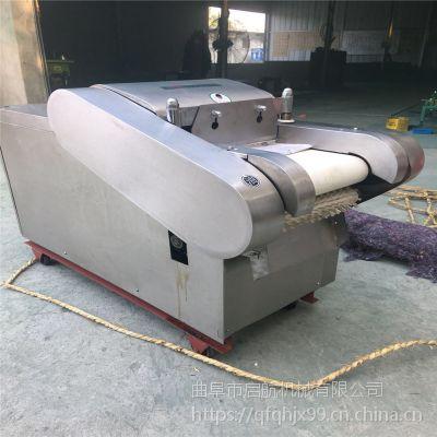 启航咸菜块茎切丝机 多功能不锈钢切菜机 安徽萝卜切丁机