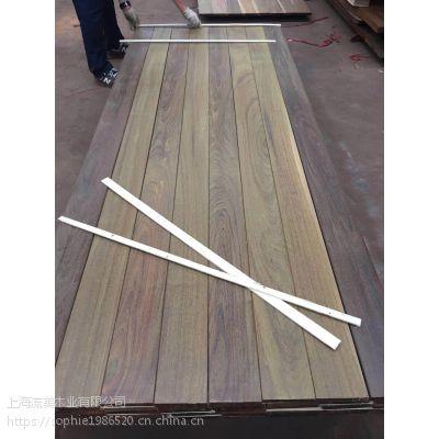 重蚁木 流美木业 室内外地板料 进口木材户外景观材