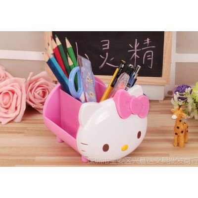 猫咪可爱儿童女孩学生铅笔收纳笔筒学习礼品卡通笔筒创意可爱