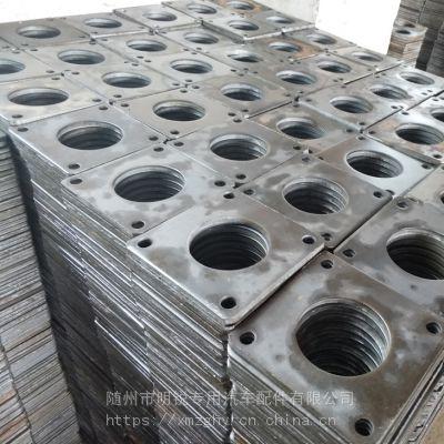 焊接铁法兰片 方形铁法兰盘 球阀专用法兰片