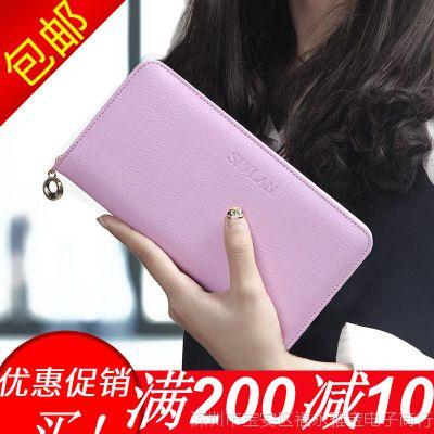 2018小清新日韩学生韩版新款女式手拿包长款女士钱包拉链包零钱包
