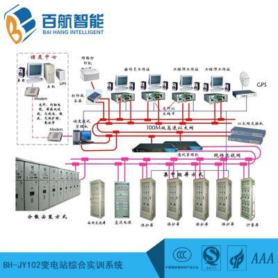 百航教学设备 变电站综合实训系统BH-JY102