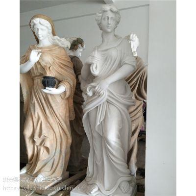 厂家直销欧式西方美女头像雕刻 汉白玉石雕人物 家居办公室摆件