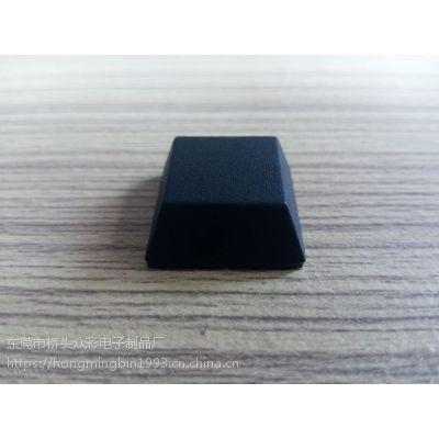 供应9*1.5mm平面圆柱形黑色硅胶垫 可定制形状高宽厚度