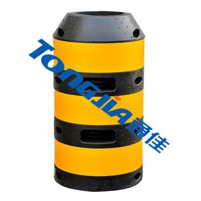 电杆警示墩生产设备价格通佳吹塑机
