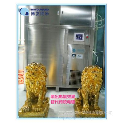 博友纳米等离子镀设备替代传统电镀、贴金箔、银箔