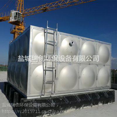 供应上海不锈钢生活水箱304方形消防专用组合式循环供水设备