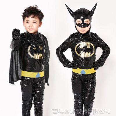 万圣节儿童服装男童蝙蝠侠衣服宝宝cosplay角色扮演角色扮演套装