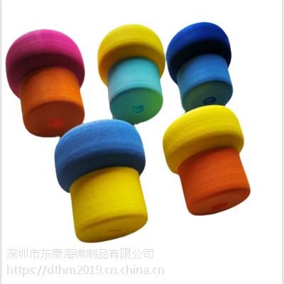 专业定制外贸出口 异形EVA积木玩具 三角形EVA研磨打孔