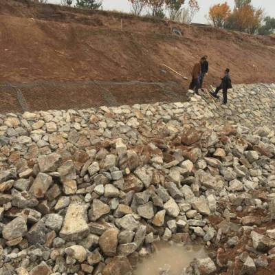 宾格石笼8*10石笼网包塑(pvc)石笼网防护的优势 宾格石笼网厂家 石笼网厂家