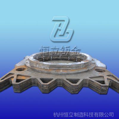 非标法兰 碳钢法兰 精密加工焊接钻孔一条龙加工