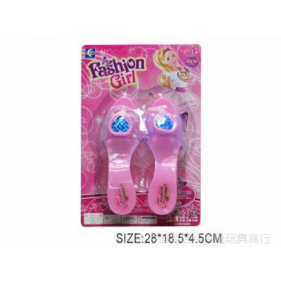 新款地摊热卖 女孩高跟鞋 女孩玩具 时尚打扮玩具 外贸热销批发