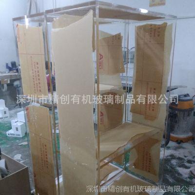 工厂定制 超大有机玻璃衣柜 高档压克力展柜 时尚家具 品质保障