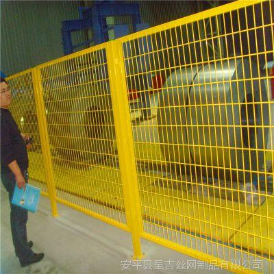 呈吉供应包塑铁线护栏网车间隔离网小区防护网天津山东围栏网仓库围栏网