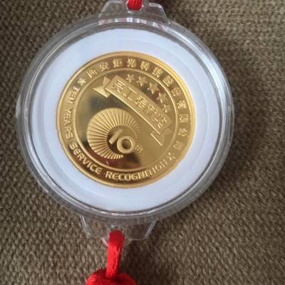 西安金币、纪念银币免费设计 陕西纯银镀24k金币纪念章木盒包装宁派订做