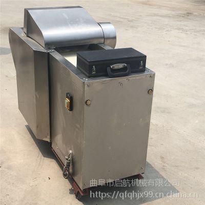 新款树叶切段机 多功能干辣椒切丁机 启航酸菜切丝机价格