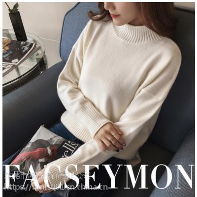 广东虎门女式羊毛衫批发厂家时尚女装毛衣韩版加厚毛衣低价处理
