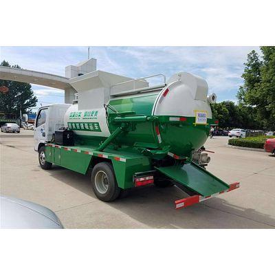 重庆8吨餐厨垃圾车价格配置图片
