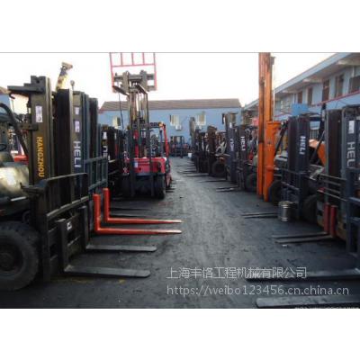 5吨合力二手叉车 5T杭州二手叉车 柴油叉车 九成新