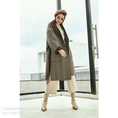 广州大码女装品牌折扣女装一手货源库存批发供应