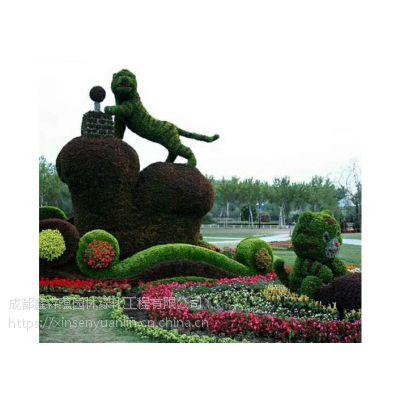 定制大新摆放草花的真植物造型,真植物定制立体花坛雕塑