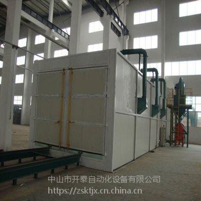 大型工业设备表面工艺设备喷砂房 哈尔滨打砂机