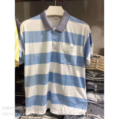 厂家跑量男装商务T恤福建福州市台江区哪里有男装圆领纯棉T恤低价处理T恤批发