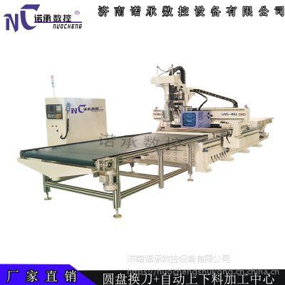 供应NC-1325徐州橱柜衣柜下料机多少钱 板式家具数控雕刻机